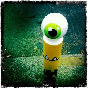 poteau-cyklop-jaune-hipsta