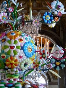 Takashi--galerie-glaces-fleurs-Murakami-exposition-Versaill