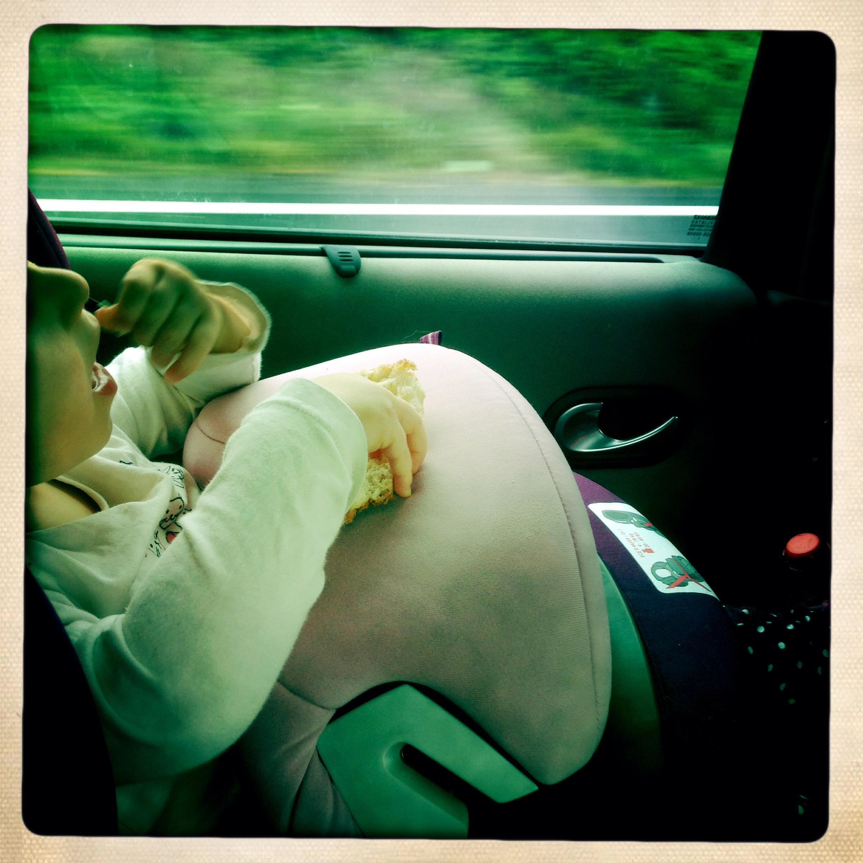 astuce pour un bébé malade en voiture