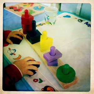 melissa & doug Stack & Sort Board, un abaque pas cher en bois bébé