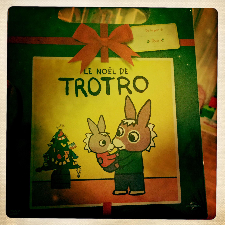 La pochette cadeau de Noël de Trotro