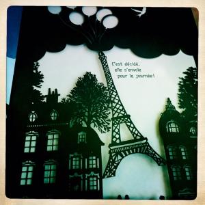 Paris s'envole livre