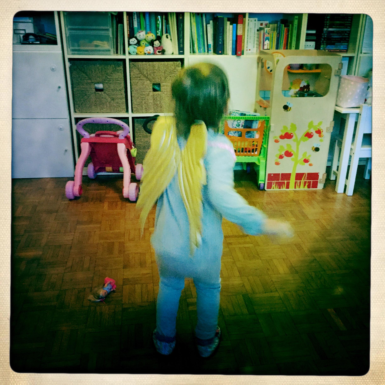 costume ange pour bébé HM