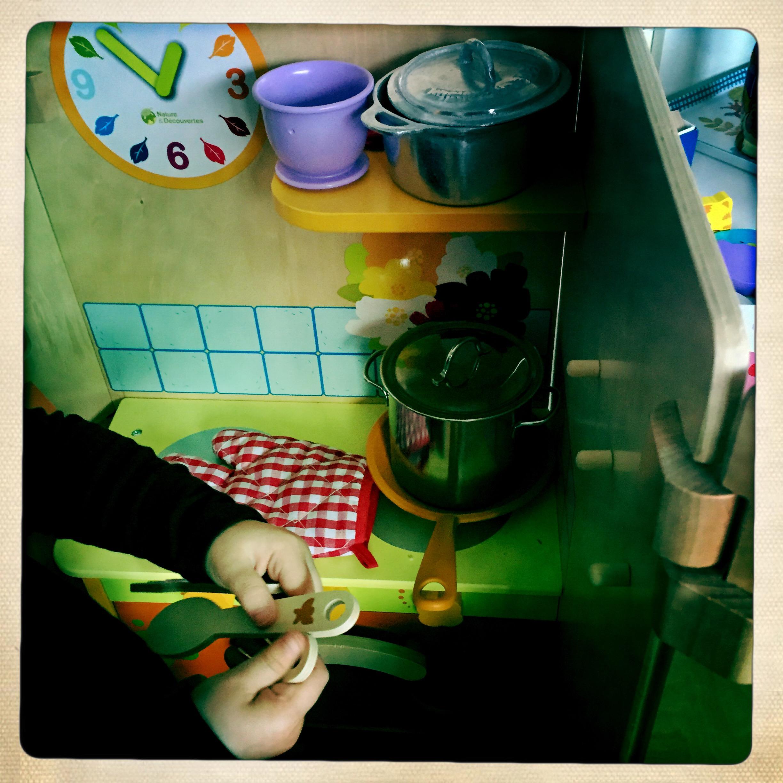 Cuisine en bois nature et decouverte - Nature et decouverte jouets ...