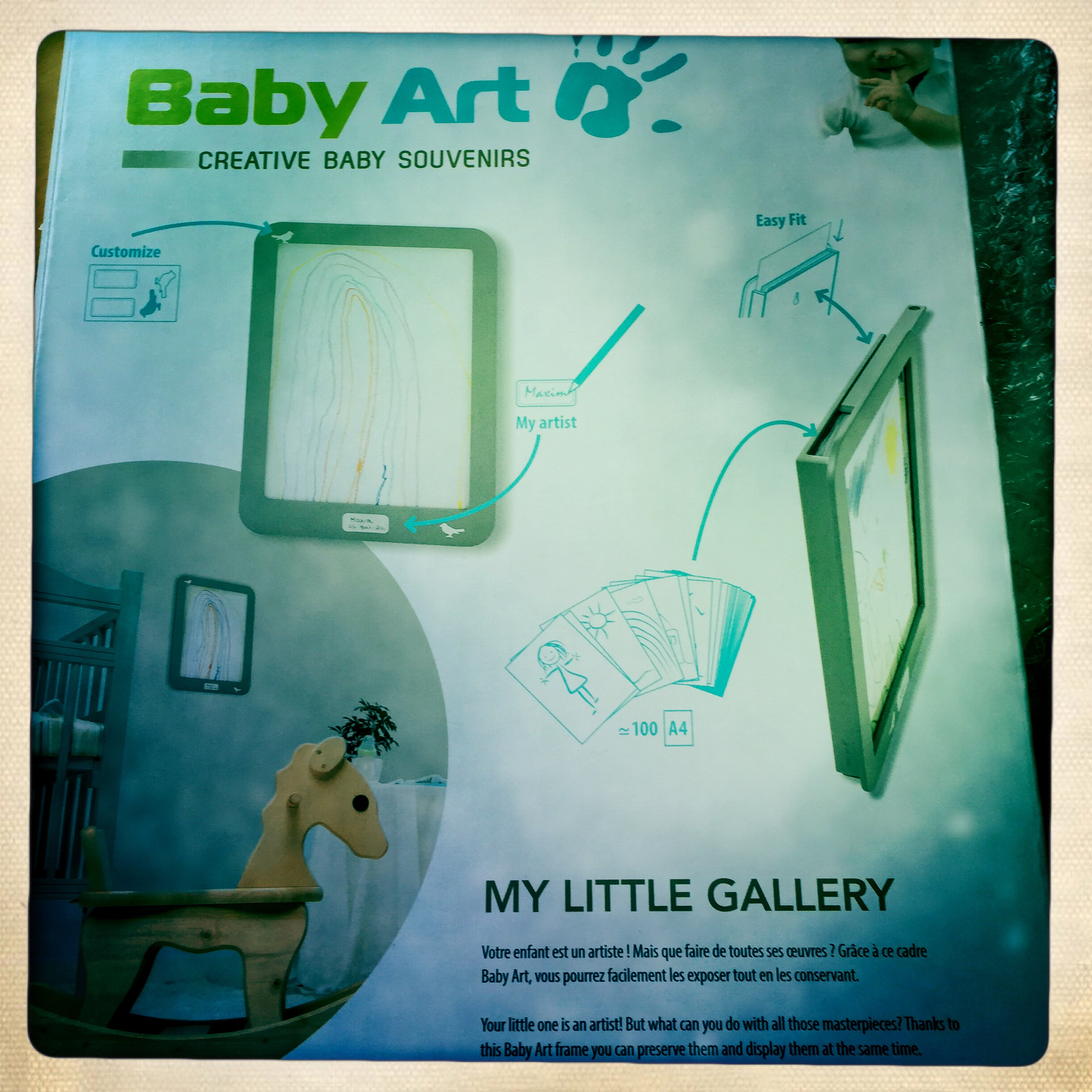 My little gallery baby art test et avis