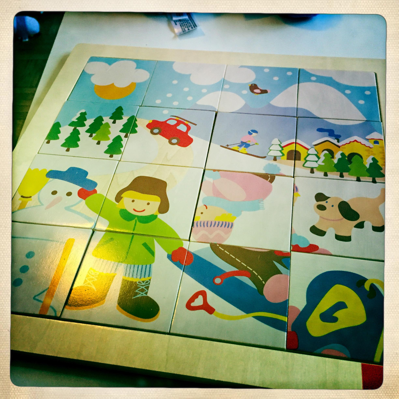 Puzzle en bois goula enfant 2 ans test