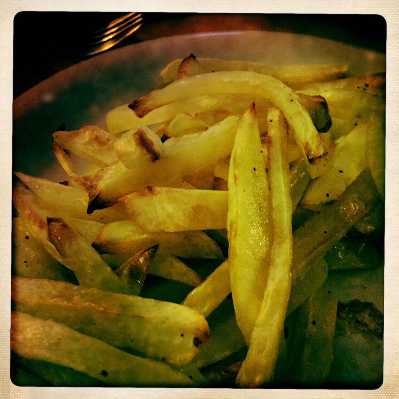 recette frites au four maison facile