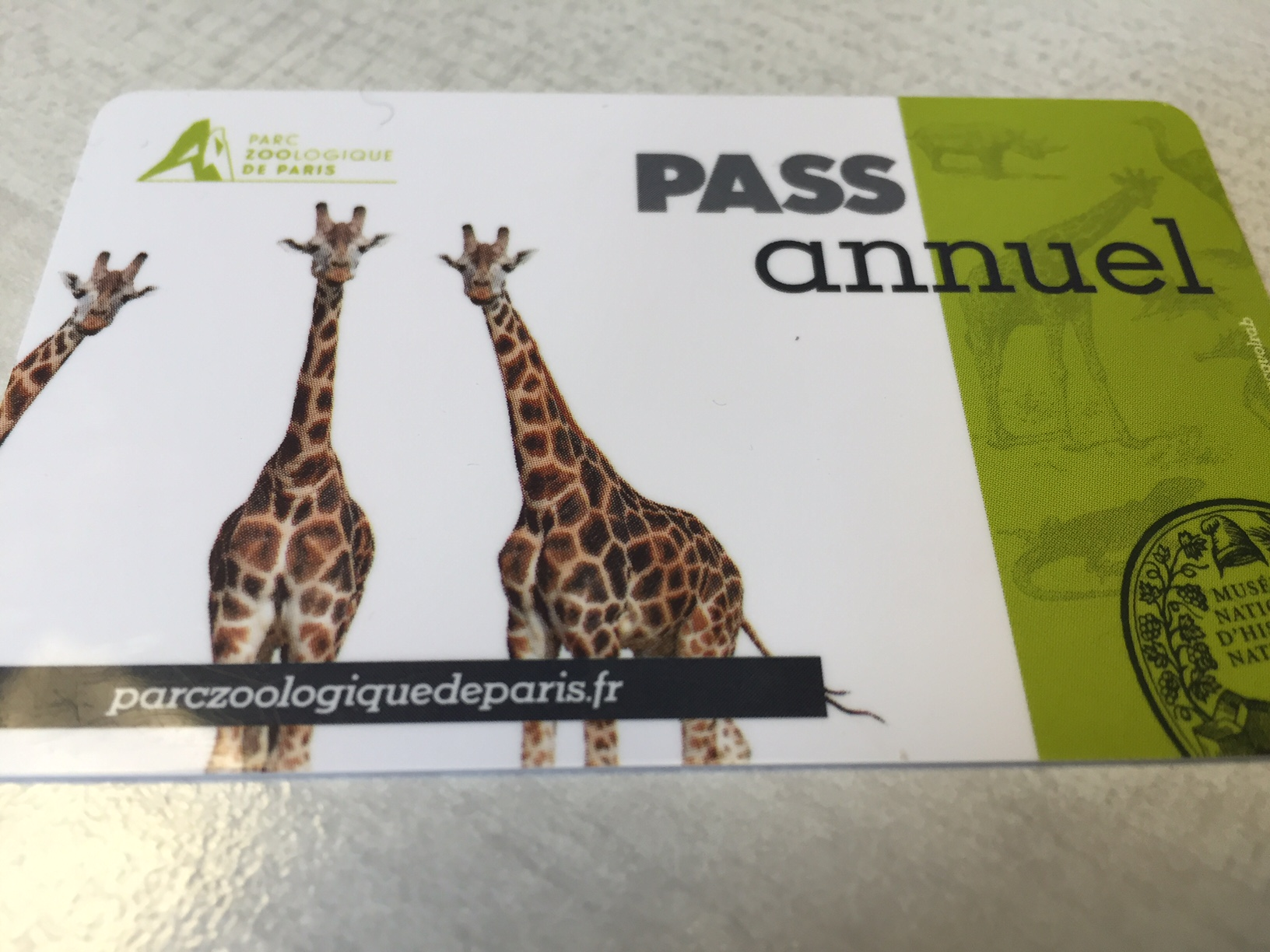 zoo pass annuel paris