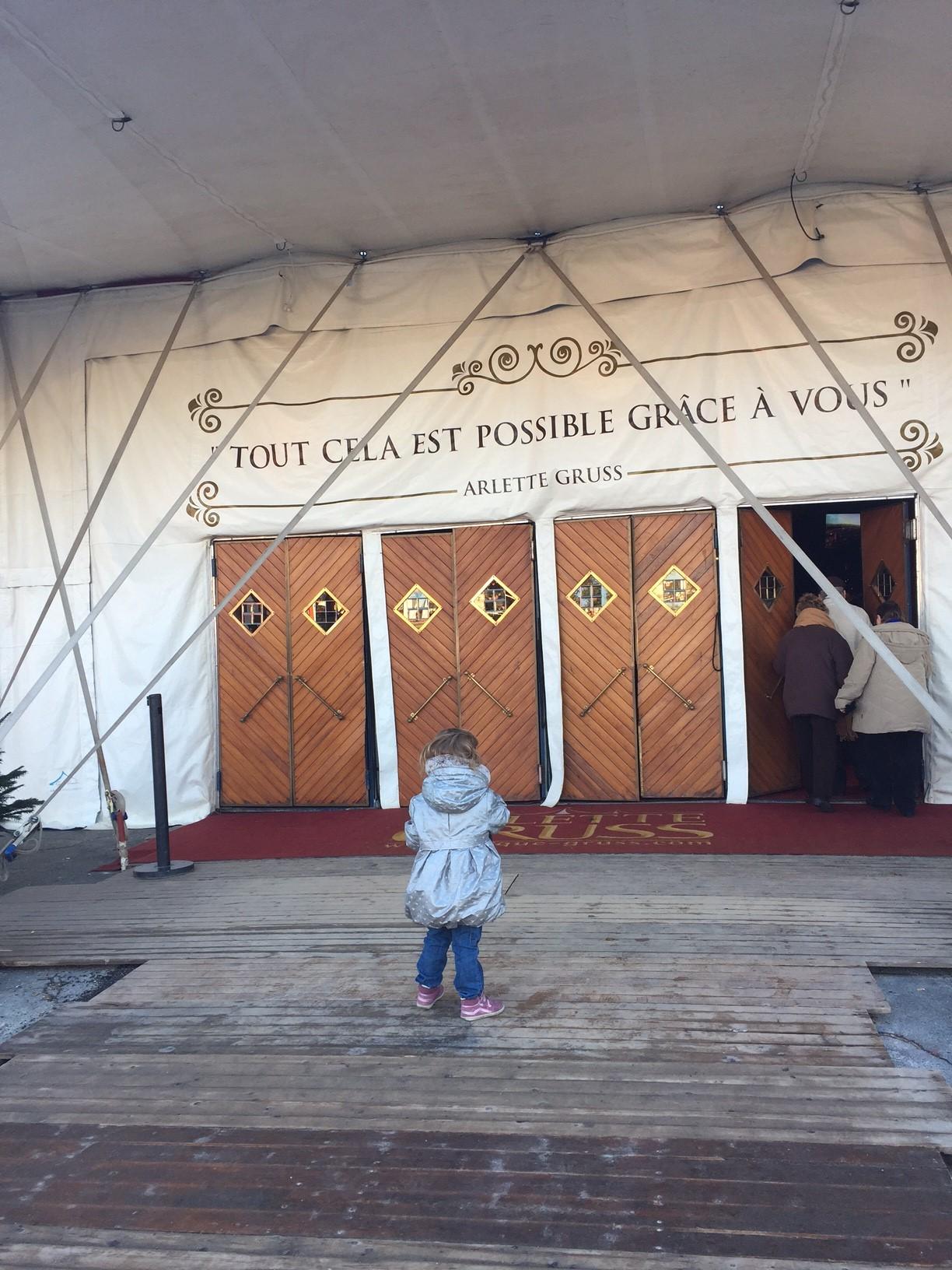 Wonder cirque Arlette Gruss