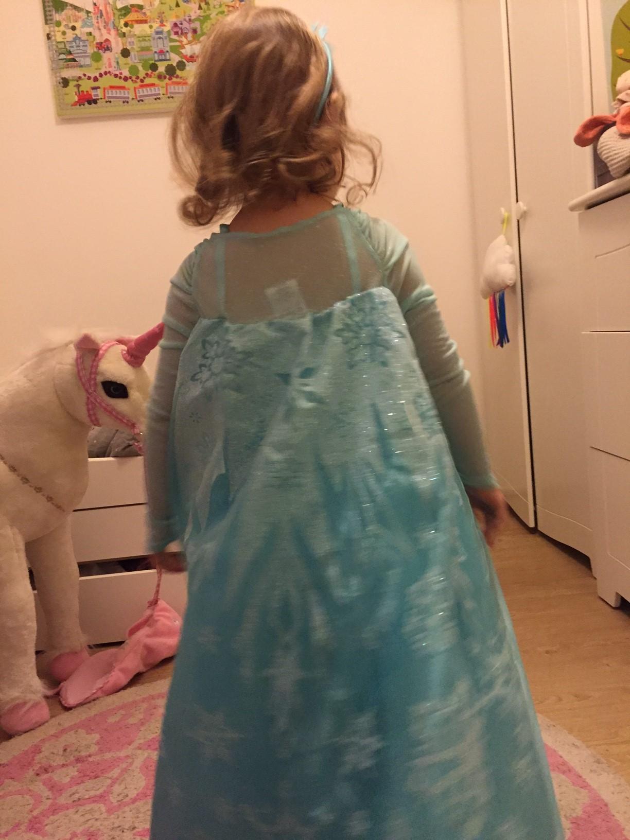 costume reine des neiges enfant