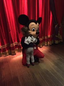 rencontrer les personnages à Disneyland Paris Mickey