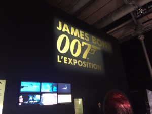 L'Exposition James Bond 007 à Paris