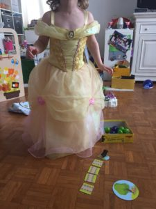 Robe de princesses disney