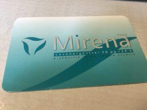 avis positif sur le stérilet Mirena