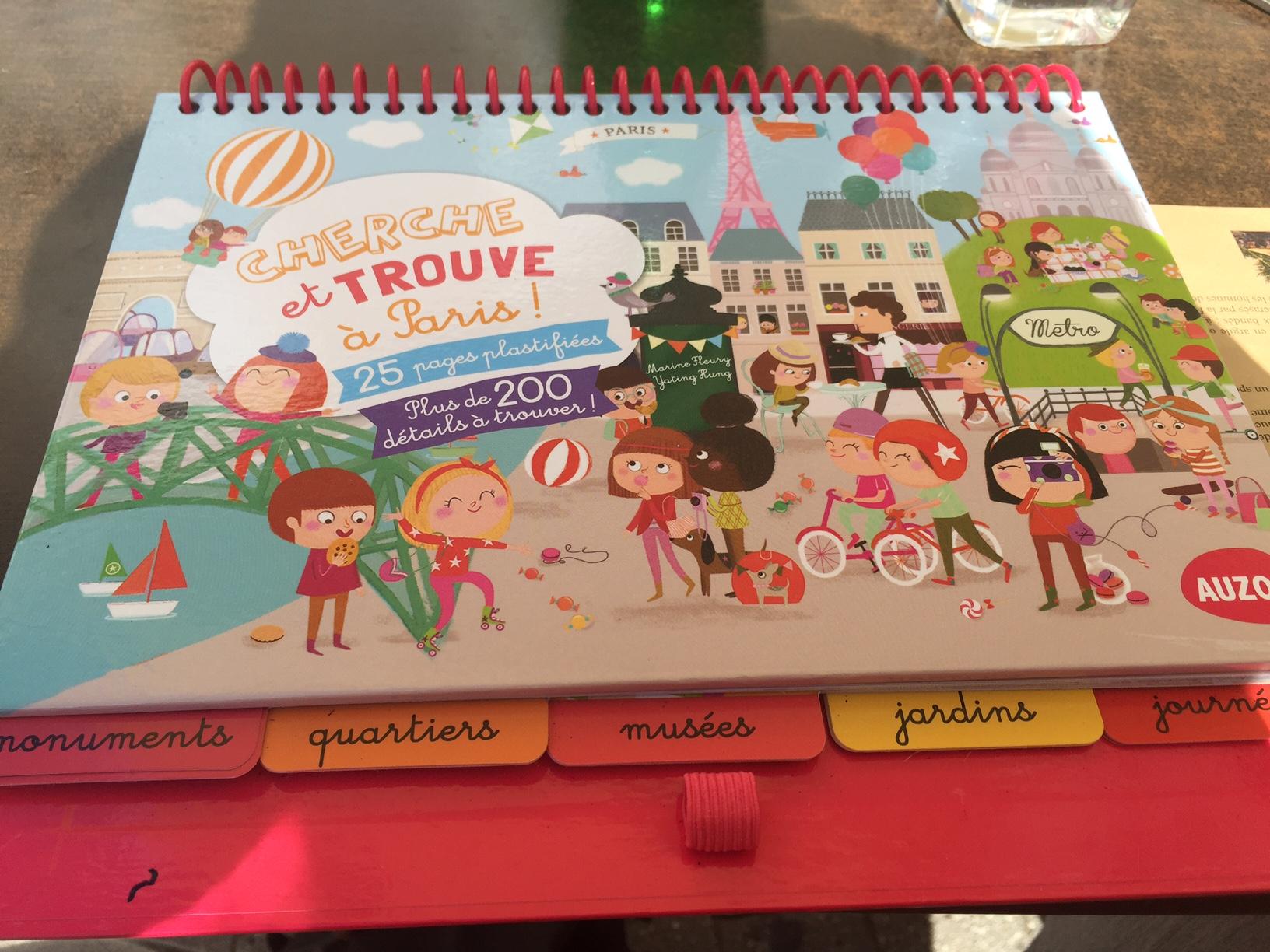 Cherche et trouve Paris test livre et jeu