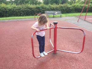 Londres avec un enfant de 3 ans aire de jeux