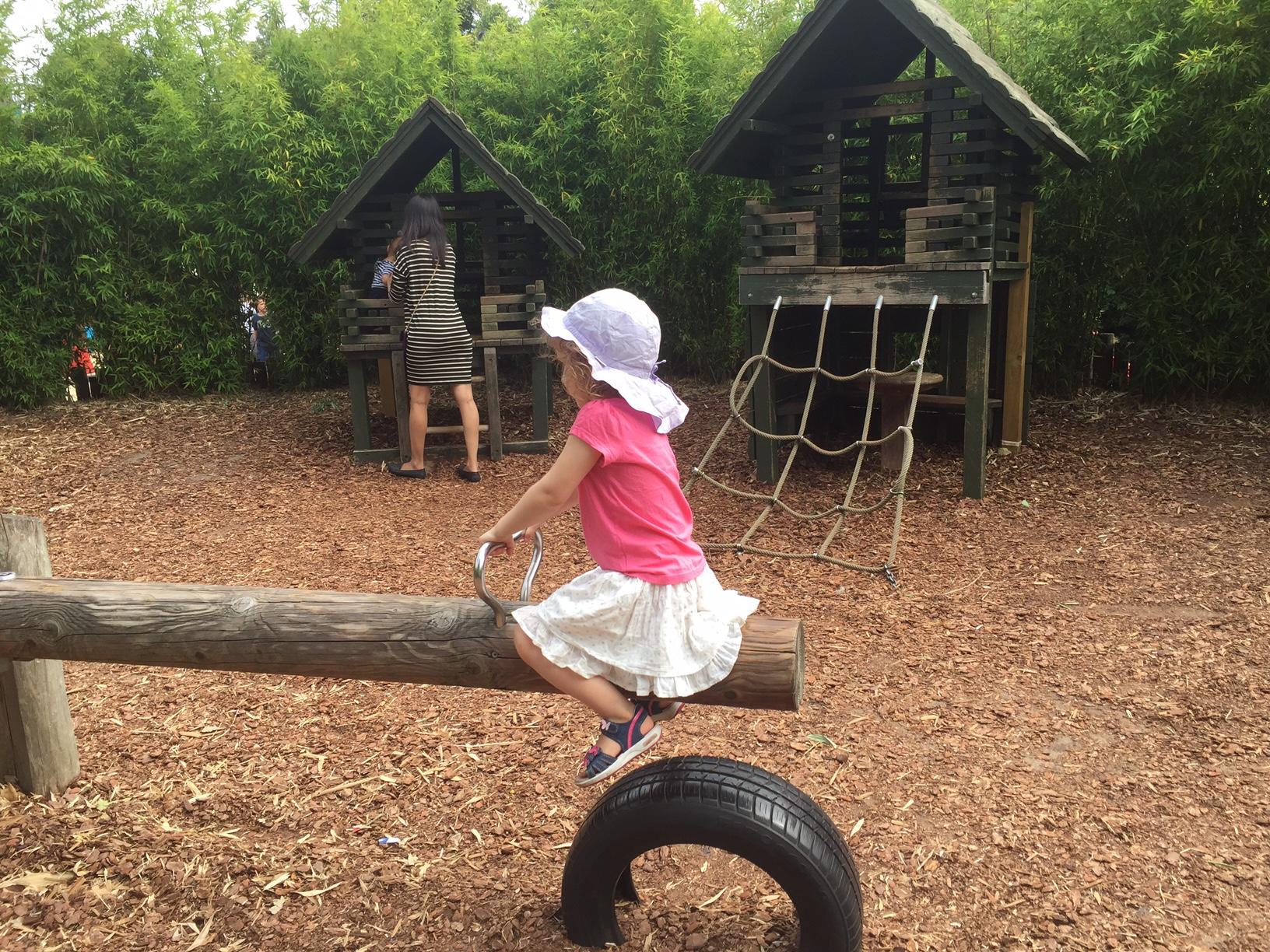 Londres avec un enfant de 3 ans diana playground