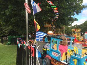 Londres avec un enfant de 3 ans manège