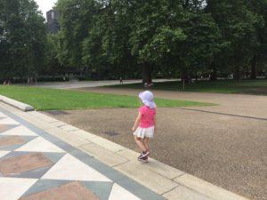 Londres avec un enfant de 3 ans parc