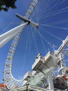 Londres en famille london eye