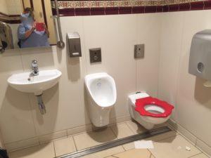 astuces pour votre visite en famille à Disneyland Paris toilettes