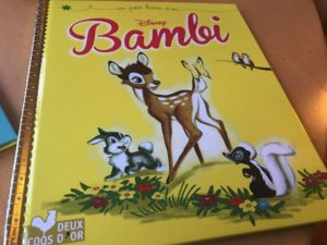 Mon petit Livre d'or Disney bambi