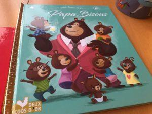 Mon petit Livre d'or Disney papa bisous