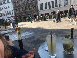 Copenhague en famille terrasse