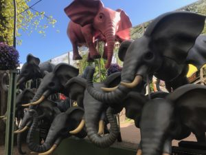 activités en famille à Copenhague. tivoli elephant