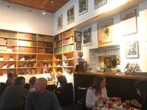 v books café Copenhague en famille
