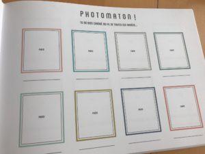 album spécial photos de classe de Babayaga photomaton