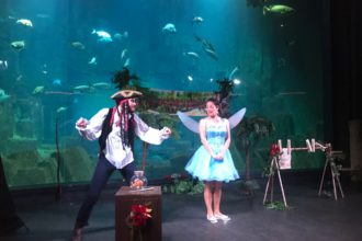 aquarium de Paris spectacle enfant la fée des océans