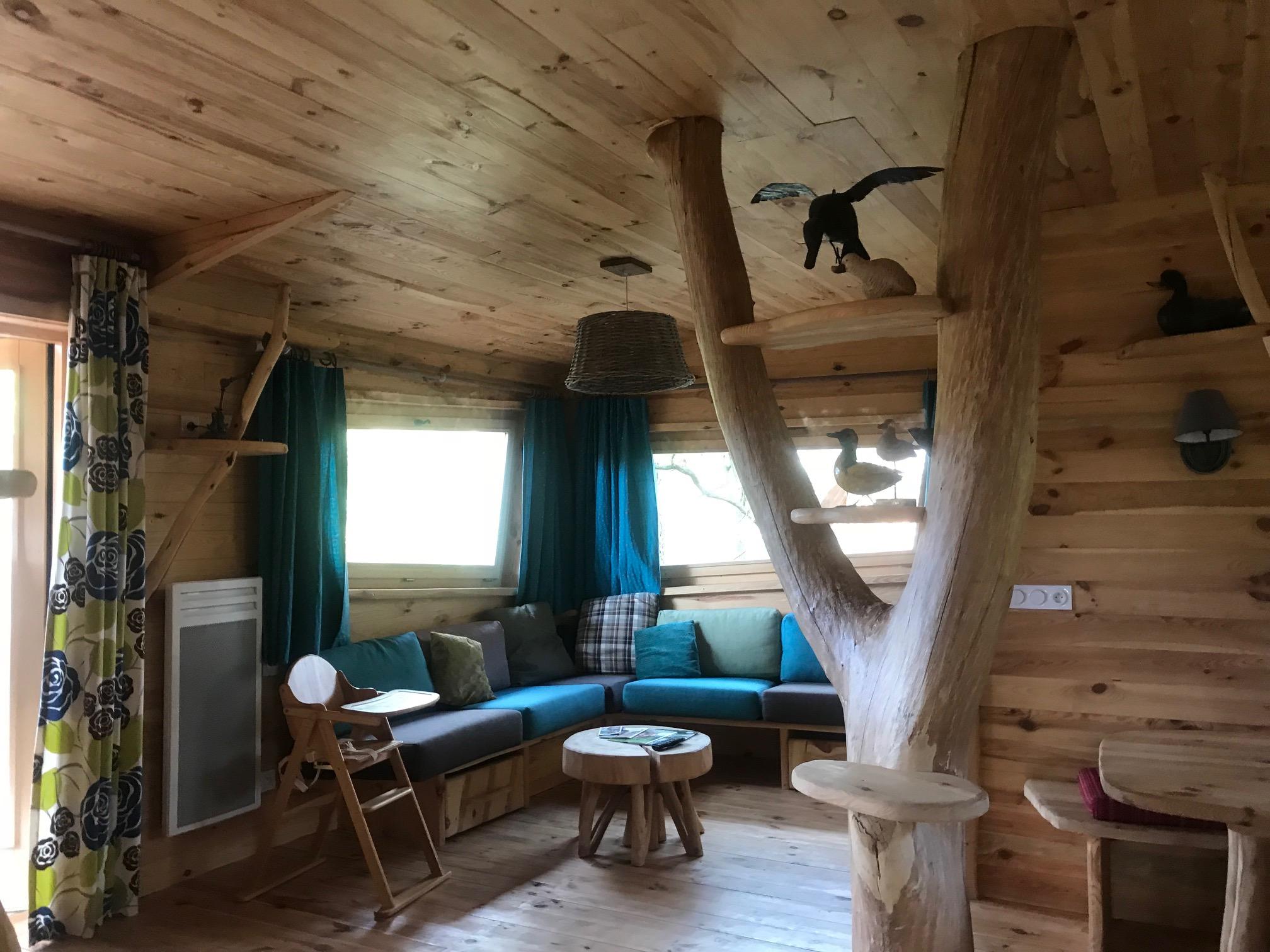 center parc bois au daim le test de la cabane dans les. Black Bedroom Furniture Sets. Home Design Ideas